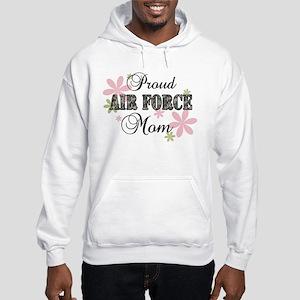 Air Force Mom [fl camo] Hooded Sweatshirt